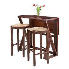 Shop Winsome Harrington 3 Piece Drop Leaf Dining Table Set With 2