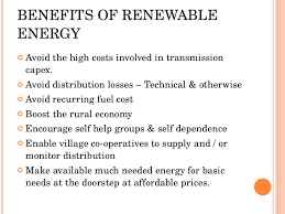 renewable energy in status and future prospects  increased financing options 7 benefits of renewable energy