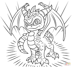 Small Picture Skylanders Spyro coloring page Free Printable Coloring Pages
