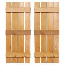 Board And Batten Dimensions Design Craft Millworks 15 In X 72 In Natural Cedar Board N