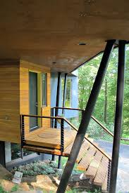 Outdoor Staircase villa striking wooden outdoor staircase design leads you to get 3406 by xevi.us