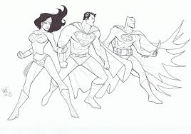 Superman trailer came and went, and we still didn't get a great look at ben affleck in the traditional batman costume (we'll leave that armored suit out of this). Awesome Batman Superman Wonder Woman Coloring Pages Ucoloring