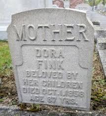 Dora Shocket Fink (1891-1958) - Find A Grave Memorial
