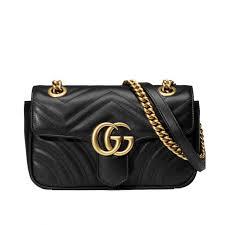 gucci 443497. gucci gg marmont matelasse mini bag 443497 black