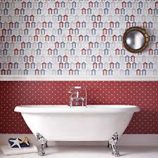 bathroom wallpaper. Image Is Loading Contour-Beside-The-Seaside-Beach-Hut-Coastal-Kitchen- Bathroom Wallpaper