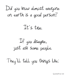 Good Person Quotes Amazing New Good Person