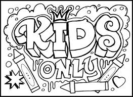 Small Picture fun coloring pages for kids Fun Coloring Pages For Older Kids To