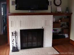 fireplace shoe install