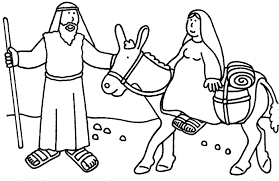 Bible Christmas Coloring Pages Free Color Bros