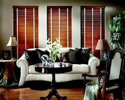 wood horizontal blind