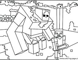 Minecraft Mutant Creeper Coloring Pages 2019 Open Coloring Pages