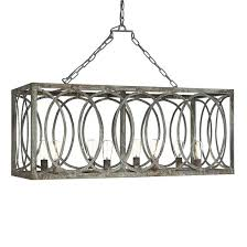 ashley taylor home french iron charles rectangular chandelier 8 light 1 499 00