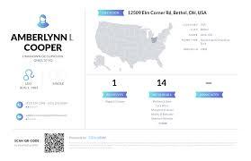 Amberlynn L Cooper, (937) 379-2348, 12509 Elm Corner Rd, Bethel ...