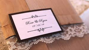 wooden wedding invitations real wood wedding invite pocketfold Real Wood Wedding Invitations wooden wedding invitations real wood wedding invite pocketfold with or without lace youtube real wood wedding invitations custom