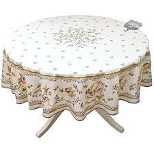 round cotton tablecloth round blue cream coated cotton tablecloth by fabric tablecloths for round cotton tablecloth