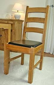 ladder back dining room chairs oxford solid oak and leather ladder back dining chair oak dining