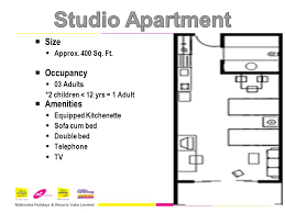12 Studio Apartment Size