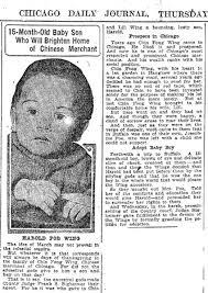 Yung Gung-Jork alias Harold Poe – Caucasian boy adopted by Chinese ...