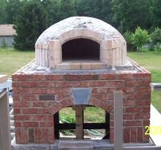 backyard brick oven and grill bake ovens outdoor brick pizza oven