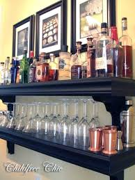 wall mounted liquor shelves marvellous design wall mounted bar shelves delightful best ideas on and