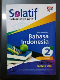 Download buku marbi kelas 8 kurikulum 2013 guru ilmu sosial. Jual Solatif Bahasa Indonesia Smp Kelas Viii Di Lapak Buku Mirah Bukalapak