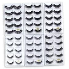 <b>SHIDISHANGPIN</b> 5 Pairs <b>3D Mink Lashes</b> Natural Mink <b>Eyelashes</b> ...