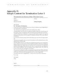 Employer Termination Letter Sample | Cvfree.pro