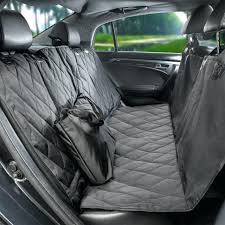 dog car seat covers s proof uk with belt holes petbarn
