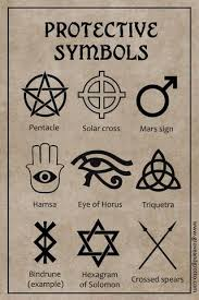 Wiccan Symbols And Meanings Chart Magickal Symbols Of Protection Grove And Grotto