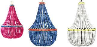 blue bead chandelier blue beaded chandelier wood