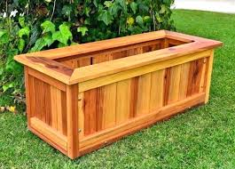 wood outdoor planters wooden planter boxes for large box designs bench plans on white wood outdoor planters