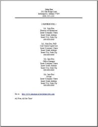 Should I Put References On My Resume - Best Resume Sample intended for  Should I Put