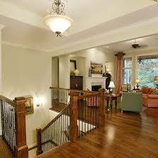 Open basement stairs Framing Corner Open Basement Stair Design Ideas Pictures Remodel And Decor Pinterest Open Basement Stair Design Ideas Pictures Remodel And Decor