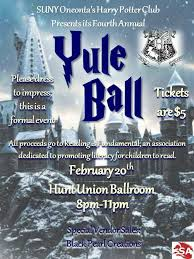 Harry Potter Yule Ball Decorations