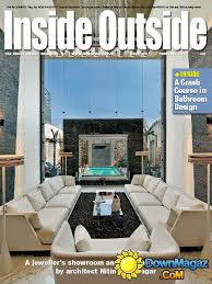 Interior Design Magazine Pdf Best Inside Outside 4848 Download PDF Magazines Magazines Commumity