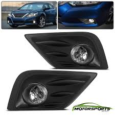 2017 Nissan Altima Led Fog Lights Details About For 2016 2017 Nissan Altima Bumper Fog Lights Pair Switch Bulbs Wiring Harness