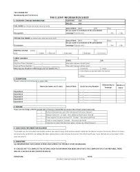 Customer Information Template Customer Information Template