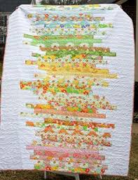 free Jelly Roll Quilt Patterns …   Projects to try   Pinterest ... & A line art quilt in happy colors. I like this better than the jellyroll  race quilts. Maybe for my Me and My Sister jellyroll? Adamdwight.com