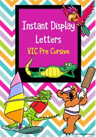 Printable Chevron Letters Instant Display Uppercase Lowercase Letters Chevron Design Vic Pre Cursive