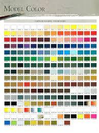 Amazon Com Model Color 72 Basic Colors Set In Plastic Case