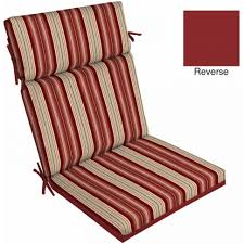 better homes and gardens outdoor patio reversible dining chair cushions ikea cushion walm large size