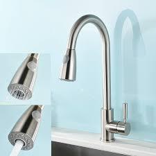 Uberhaus Kitchen Faucet Kitchen Sink Faucets Amazoncom Kitchen Bath Fixtures