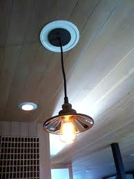 small pendant lights 7 inch recessed light conversion portfolio kit replace lighting can with hanging installing dining room replace recessed light