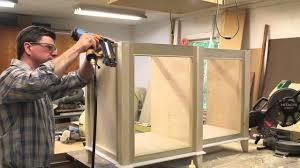 Building Bathroom Vanity How To Build A Bathroom Vanity Cabinet Part 2 Youtube