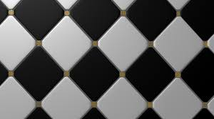 Black And White Tiles Black And White Tile Floor