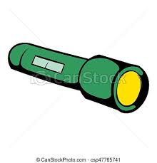 flashlight icon icon cartoon csp47765741