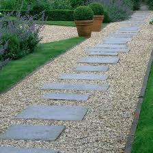 garden walkway ideas paver stones