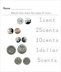 Identify Coins And Values Worksheet Worksheets for all | Download ...