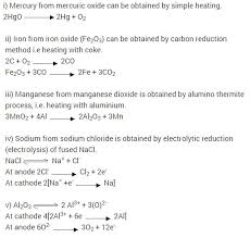 extra questions cbse class 10 science metals and