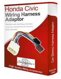 honda civic cd radio stereo wiring harness adapter lead co uk electronics
